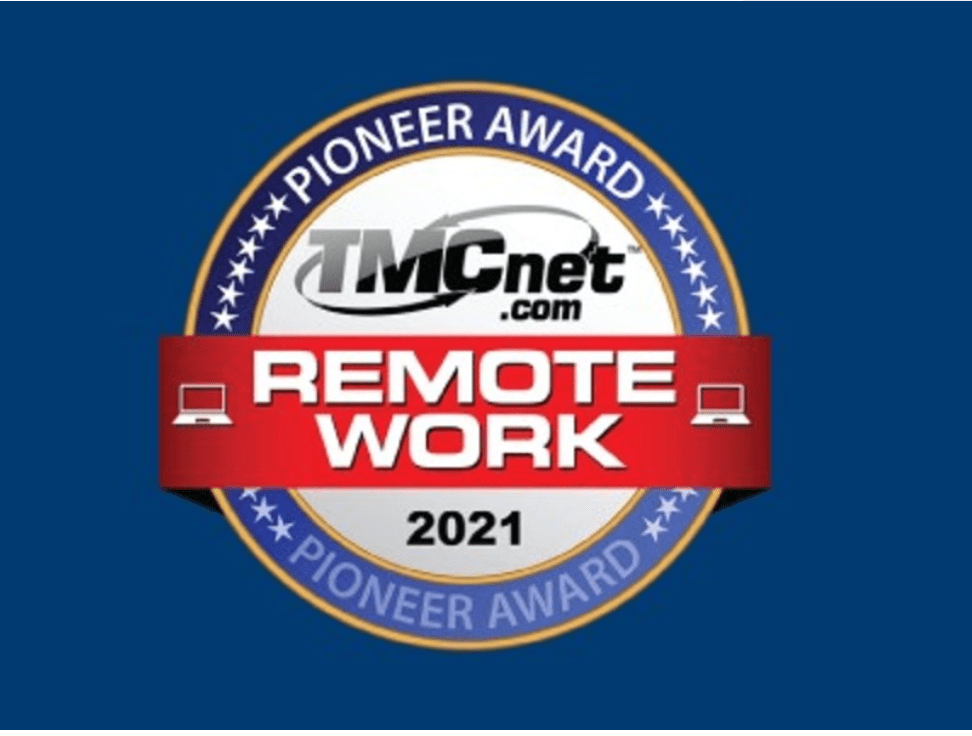 remote work pioneer award 2021